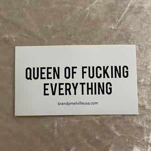 Brandy Melville Vinyl Sticker